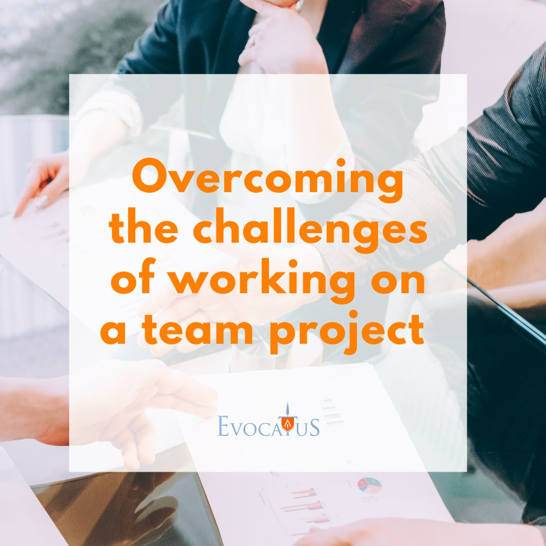 Overcoming the challenges of working on a team project